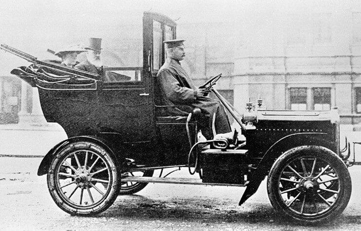 Немного из истории такси