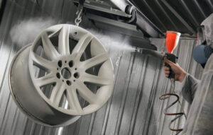 Порошковая или влажная окраска авто? Преимущества и недостатки обоих методов